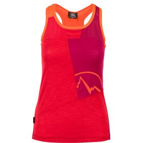 La Sportiva Earn - Haut sans manches Femme - rouge/violet